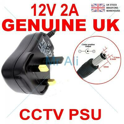 NEW UK SELLER GOOD LEAD 12V 2A 2000mA Car Charger Power Supply For YJX00312 10R 035714