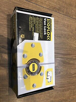 Stoplock Van Lock Door Padlock High Security Anti Theft Hardened Steel New