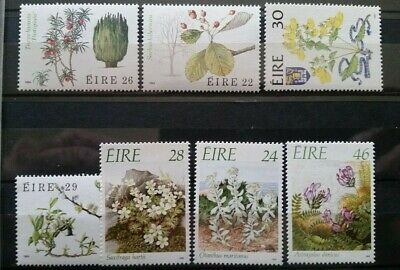 EIRE~Ireland Nice Selection~Flora Flowers Of Eire~~Nice Very Fine Lot~ MNH