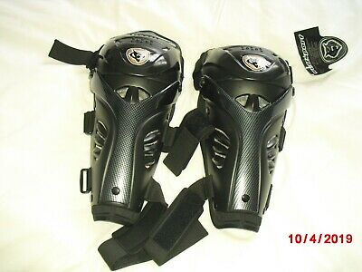 Wulfsport Knee & Shin Guards Protectors Motorcycle or Extreme Sport - NEW