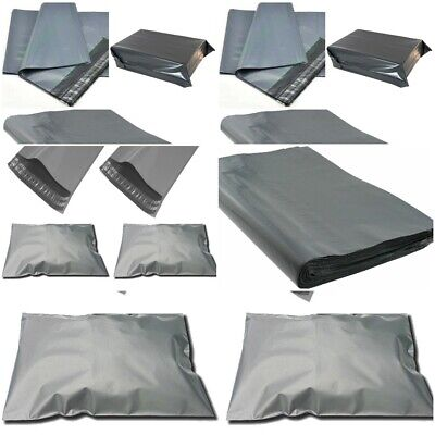 13 x 19 Grey mailing bags Strong,Self-Seal Tape,Graded-Material Same-Day P&P UK
