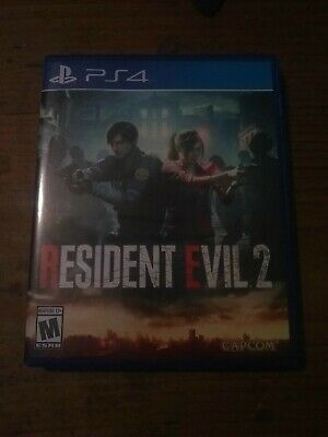 PS4 / SONY Playstation 4 game - Resident Evil 2 game