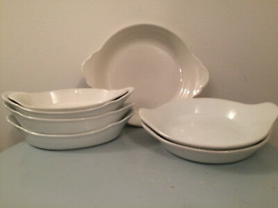 7 Porcelite And Steelite Oval Starter Dish Hardwaring Hotel Restaurant Catering