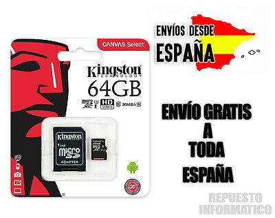 Tarjeta de Memoria Micro SD Kingston 16GB - Memoria MicroSD GB