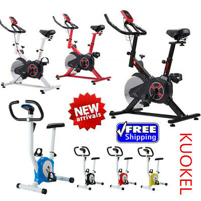 Pro Indoor Exercise Gym Bike Stationary Bicycle Fitness Cardio Home Cycling US