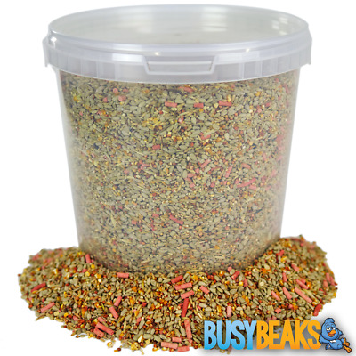 BusyBeaks Premium Wild Bird Food - High Energy Quality Garden Feed Mix