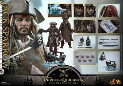 Hot Toys DX15 Pirates Of The Carribean Jack Sparrow Mint SEALED BOX CHEAPEST