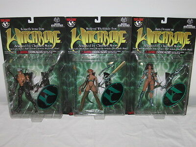 Moore Action Collectibles Top Cow Witchblade Lot Of 8 Different Figures Moc