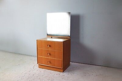 1960's mid century chest of drawers with mirror by Meredrew