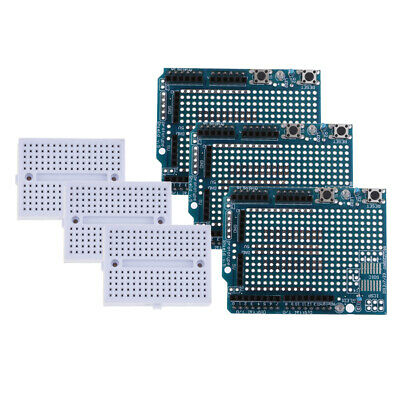 3x Proto Shield Prototype Expansion Board with Breadboard For Arduino UNO R3