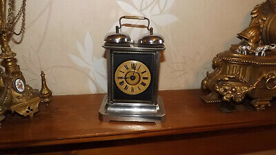 Junghans Antique Carriage Alarm Clock