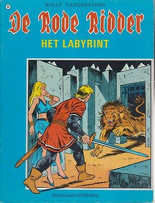 HET LABYRINT De Rode Ridder Willy Vandersteen 68