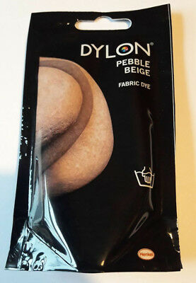 PEBBLE BEIGE DYLON HAND WASH FABRIC CLOTHES DYE 50g