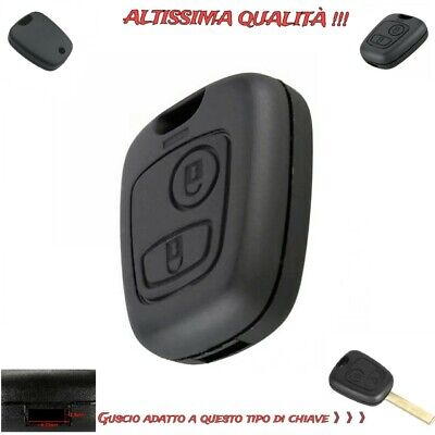 Cover Chiave Peugeot Guscio Scocca Chiave Peugeot 106,107,206,207,407,806 Key