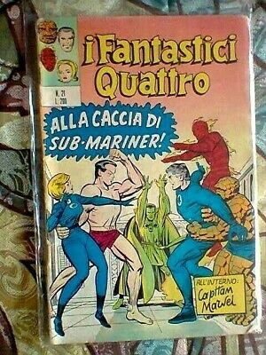 Fantastic Four 27 Italian Edition 1972 Vg To F - Others Silver Age Marvel