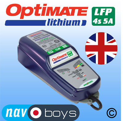 Optimate Lithium 5A charger + optimiser - UK