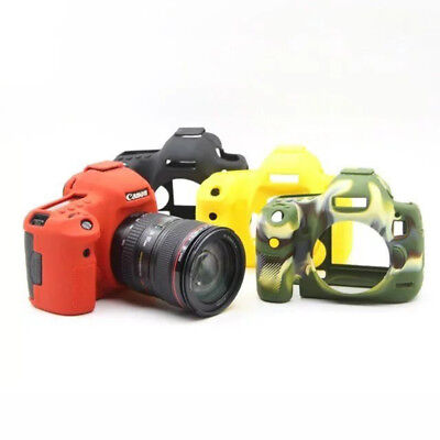 Universal For Canon EOS 5D Mark III 5D3 5DS 5DSR Case Cover Soft Silicone Skin