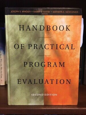 Handbook of Practical Program Evaluation by Kathryn Newcomer