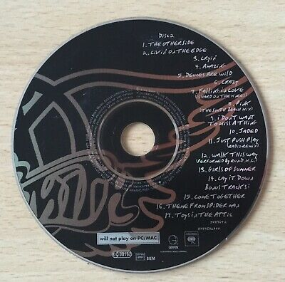 Disc 2 only! Aerosmith O, Yeah CD album Ultimate Hits The Greatest very best of