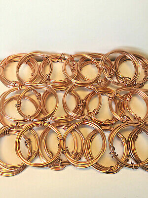 Heavy Round Copper Crafting Wire 2mm 12 gauge - solid copper (5 meters, 3 m, 1m)
