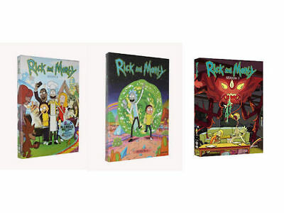 Rick and Morty: The Complete Series Seasons 1-3 1 2 3 DVD SET New & Sealed