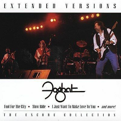 Extended Versions by Foghat (CD, Mar-2001, BMG Special Products)