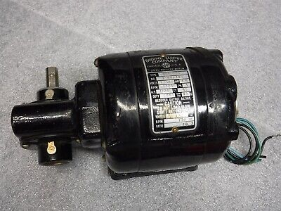 Used Bodine Electric Gearmotor Nsi-33R 115V Ac 1/20Hp 10:1 I2