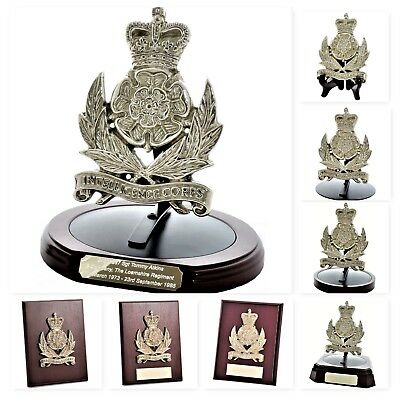 Intelligence Corps: Large Solid Brass Badge - Gift & Presentation Collection