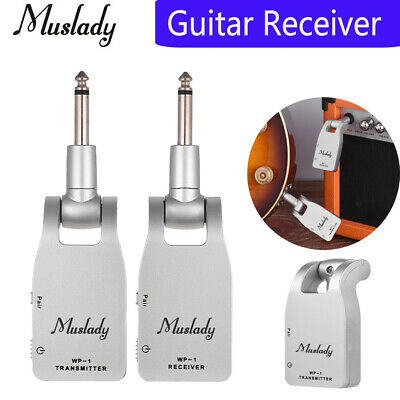 2.4G Wireless Transmitter Receiver 30M For Electric Guitar Bass With USB Cable