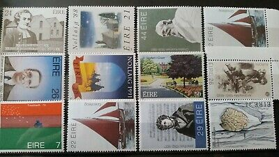 EIRE~Ireland Nice Small~Selection~Earlier Commemoratives/2A~Very Fine Lot MNH