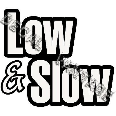Funny Slow Car Decal JDM Euro 4 banger 0 to 60 Eventually Sticker