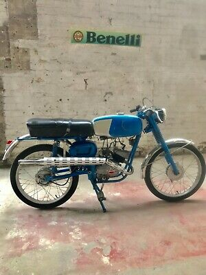 1968 Benelli California 50cc Very Rare Pedal Start Version Sports Moped