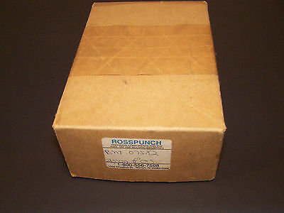 ross punch ross tool company 60  bevel head .072 dia 2 long 2500 ct Machine Die