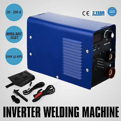 SMART-200 200 Amp Inverter DC welder MMA ARC Welding Machine 240V Welder