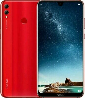 Huawei Honor 8X Max 128GB/4GB Smartphone (China Version). Red Color.