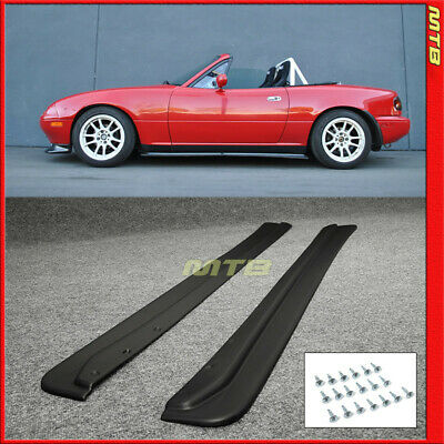 Mazda Miata Jdm >> For 90 97 Mazda Miata Mx5 Jdm Side Skirt Rocker Splitter Na