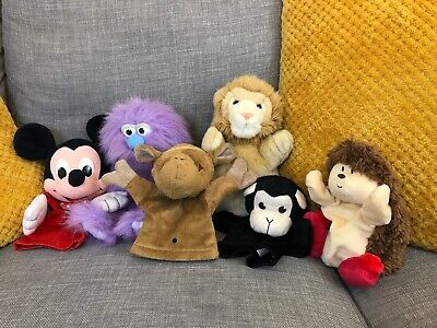 Assorted Character Hand Puppet Bundle Job Lot