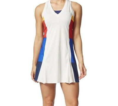 low priced 94fa5 76619 Adidas Pharrell Williams NY Tennis Colorblock Dress New w shorts Sz M