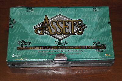 1996 Classic Assets Five Sports Factory Sealed Box