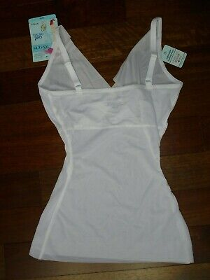 bdc1567e86c NWT  26 LOVE YOUR ASSETS BY SARA BLAKELY WHITE COOL CONTROL SHAPING CAMI