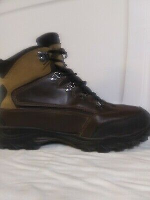 0b10a1f3959 WOLVERINE MENS HIKING Boots Leather and Nylon Spencer Brown Size 11M ...