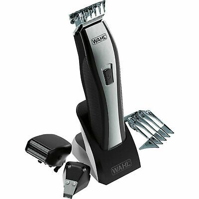Wahl Hair Nose & Ear Trimmer 3 Heads 7-Position Comb Lithium Ion Electric Shaver