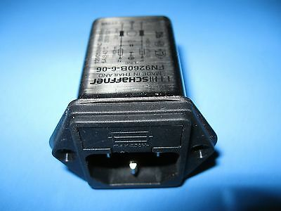 Power Entry Module Connector Outlets Schaffner FB9260B-6-06 New Ships Out Fast