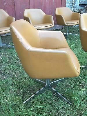 MID CENTURY MODERN RETRO STEELCASE BARREL BACK CLUB CHAIRS EAMES Wegner Baughman