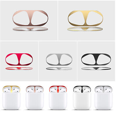 Earphone Protection Metal Dust Guard Sticker Dust-proof Case For Airpods Supply