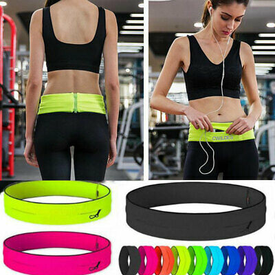 Sports Running Belt Waist Bag Bum Pocket Cycling Jogging Yoga Travel Pack Wallet
