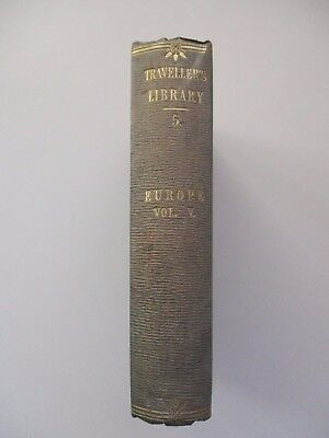 1856~Travellers Library~Russia~Life~Moscow~St Petersburg~Trade~Arts~Kremlin