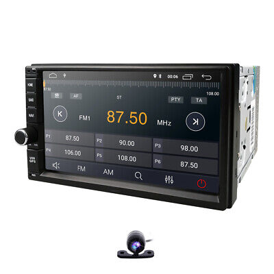 """7"""" Android 9.0 in-dash Car Stereo Radio Player 2DIN 2GB RAM 4G WIFI BT GPS AM FM"""
