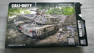 Call of Duty Mega Bloks Heavy Armor Outpost 06822 - Good Used Condition