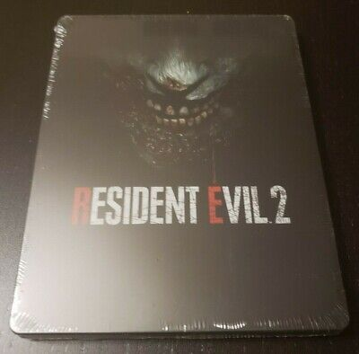 Resident Evil 2 Steelbook Case(PS4/Xbox One) [SEALED][NEW][NEAR MINT][FAST SHIP]